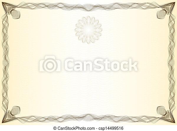 Certificate, graduate, diploma - csp14499516