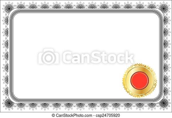 CERTIFICATE - csp24705920
