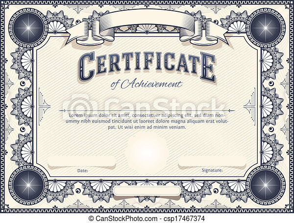 Certificate - csp17467374
