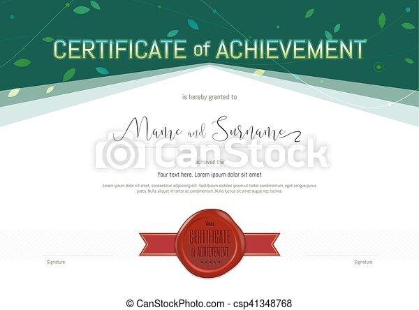 flag flown certificate template