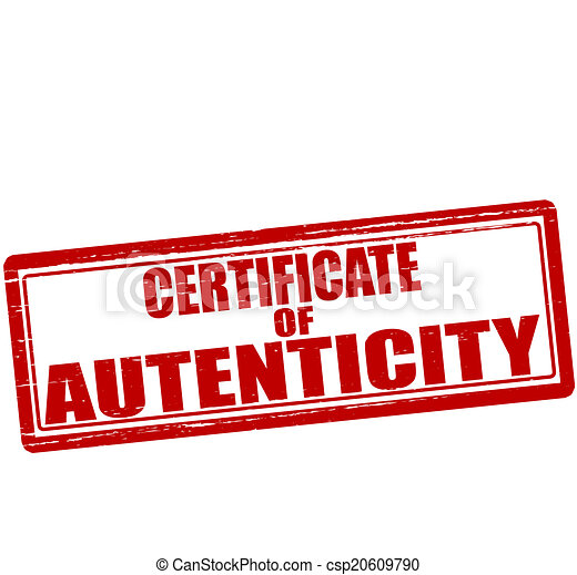 Certificate of authenticity stamp with text certificate of certificate of authenticity csp20609790 yelopaper Images