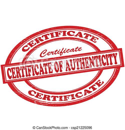 Stamp with text certificate of authenticity inside vector eps certificate of authenticity csp21225096 yelopaper Images