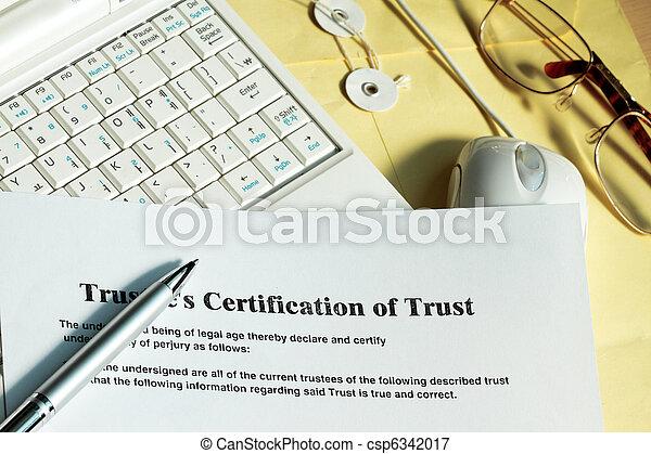 Certificate of trust - csp6342017