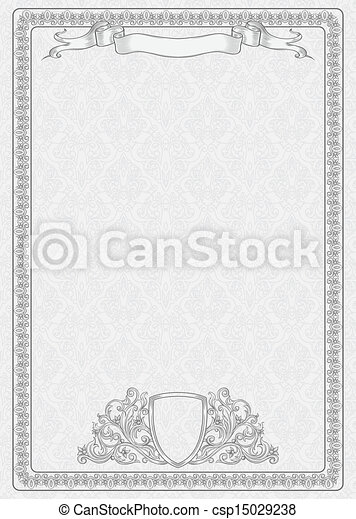 Certificate template vintage background with design vectors certificate template vector yadclub Images