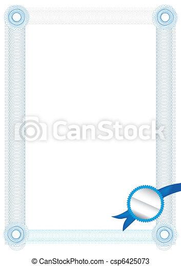 Certificate Template — Fill & Print Series - csp6425073
