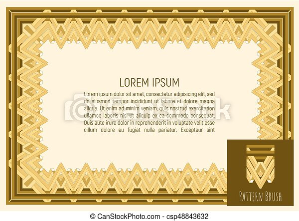 Certificate template with guilloche pattern and background certificate template with guilloche pattern and background money style design vector illustration yadclub Choice Image