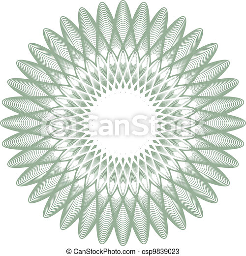 Certificate watermark pattern - csp9839023