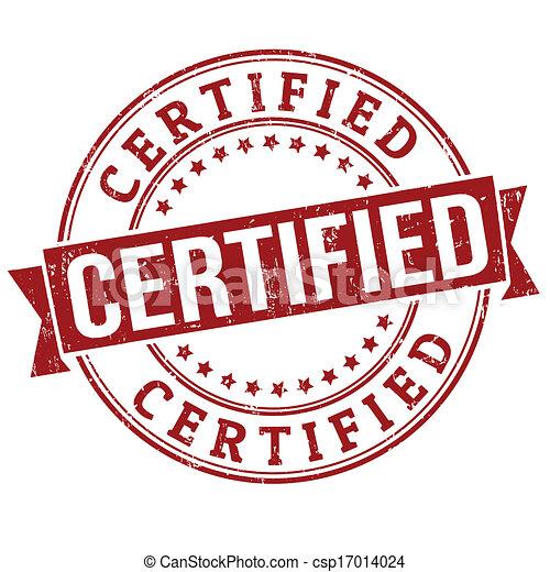 Certified stamp - csp17014024