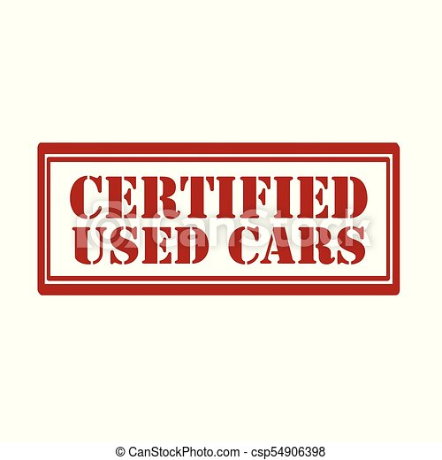Certified Used Cars >> Red Stamp With Text Certified Used Car Vector Illustration