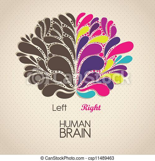 cerveau, humain - csp11489463