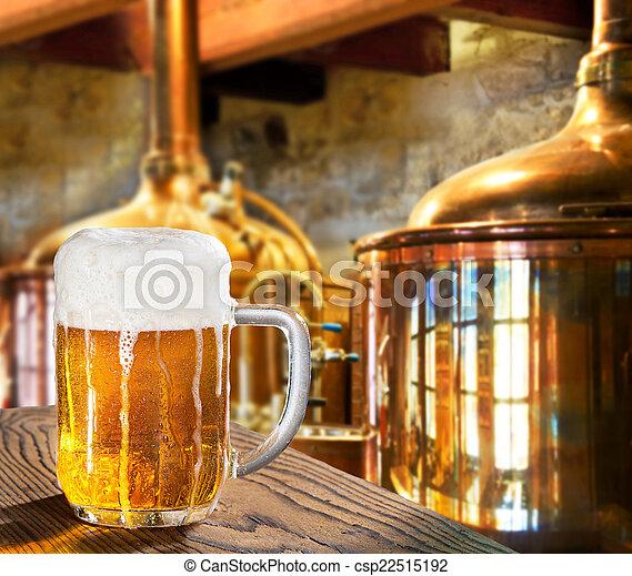 cerveja, cervejaria - csp22515192