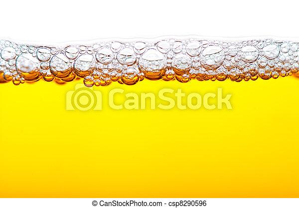 cerveja, espuma - csp8290596