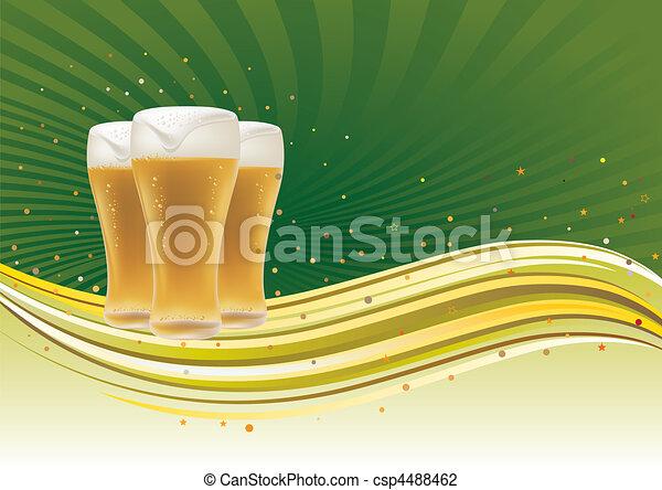 cerveja, projete elemento - csp4488462