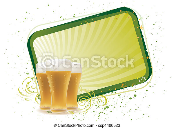 cerveja, projete elemento - csp4488523