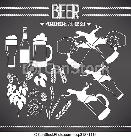 Un juego de cerveza - csp31271115