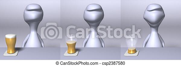 cerveza - csp2387580