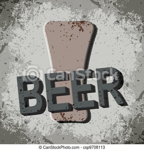 cerveza - csp9708113