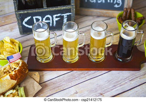 Vuelo de cerveza - csp21412175