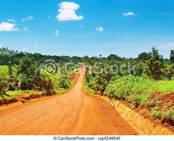 cesta, afričan - csp5549540