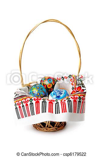 La canasta de Pascua - csp6179522