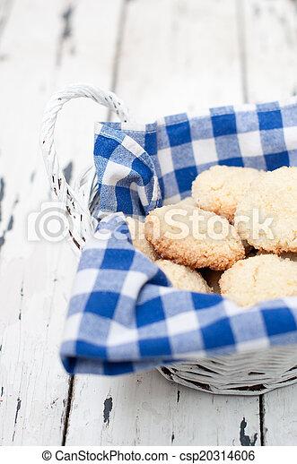cesto, biscotti - csp20314606
