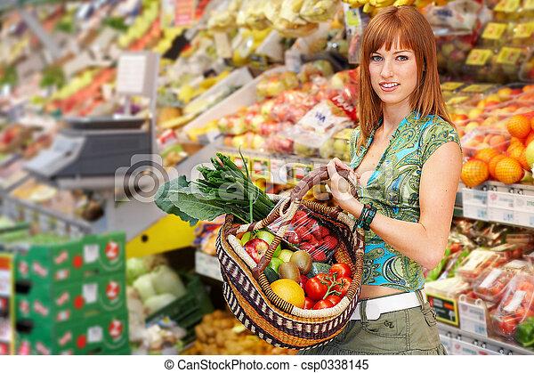 cesto, frutta - csp0338145