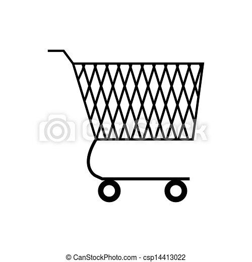 cesto, shopping - csp14413022