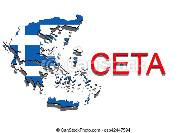 Ceta Comprehensive Economic And Trade Agreement On White