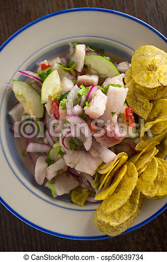 Ceviche Plantain Chips - csp50639734