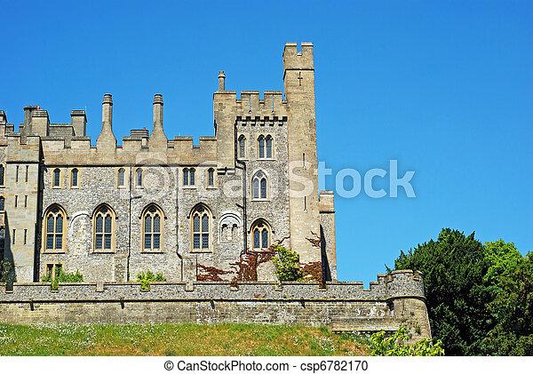 château, arundel, angleterre - csp6782170