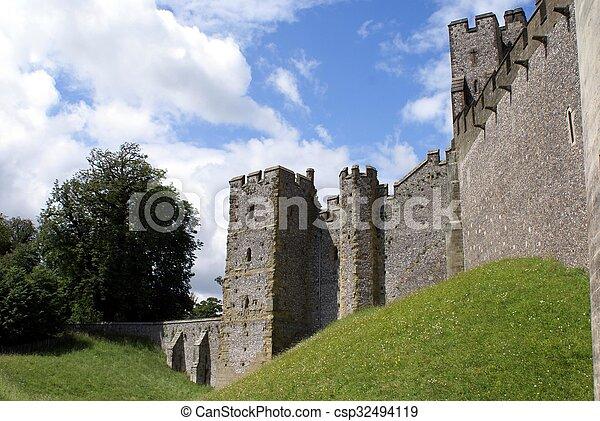 château arundel, angleterre - csp32494119