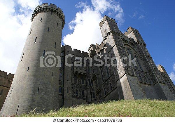 château, arundel, angleterre - csp31079736