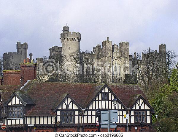 château, arundel - csp0196685