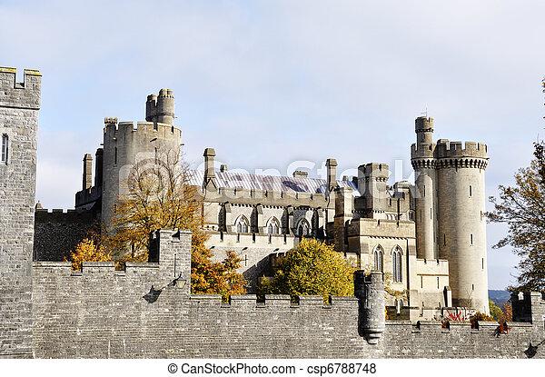 château, arundel - csp6788748