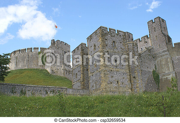 château, arundel - csp32659534