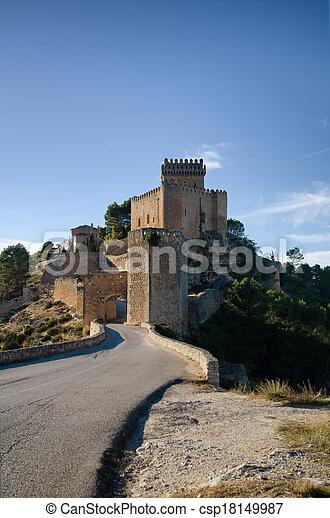 château, espagnol - csp18149987