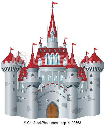 château, fée-conte - csp14123568