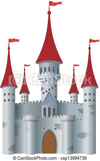 château, fée-conte - csp13994738