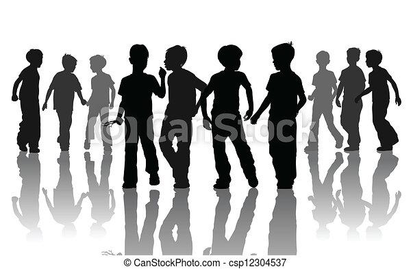 chłopcy - csp12304537