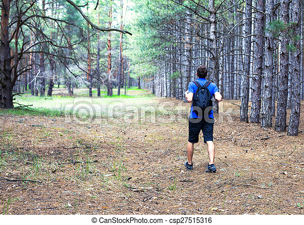 chłopiec, plecak - csp27515316