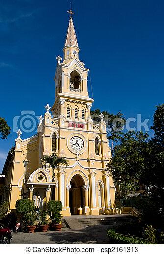 Cha Tam Church in Ho Chi Minh City - csp2161313