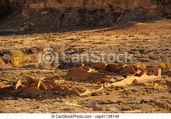 Chaco Culture National Historical Park - csp41138144
