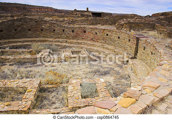 Chaco Culture - csp0864745