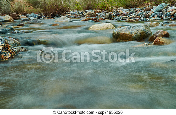 Chagan Uzun river - csp71955226