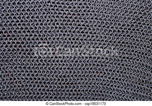 Chain Armour Background - csp18531170