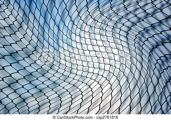 Chainlink fence - csp2761816