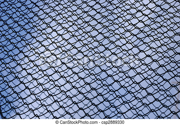 Chainlink fence - csp2889330