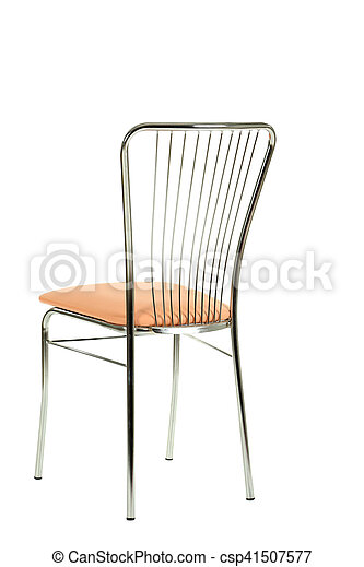 Chair isolated on a white background - csp41507577