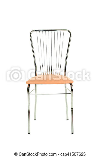 Chair isolated on a white background - csp41507625