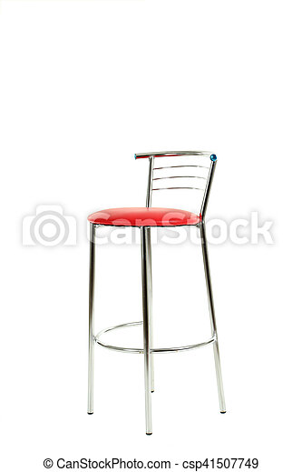 Chair isolated on a white background - csp41507749